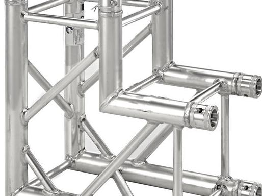 Global Truss F34 – C21 90° Corner – Silver