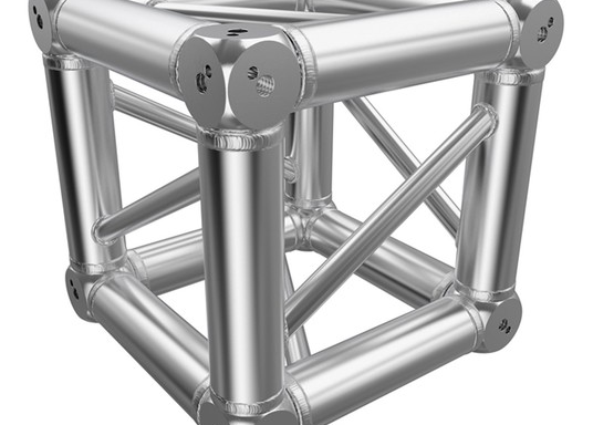 Global Truss F34 – Box Corner – Silver