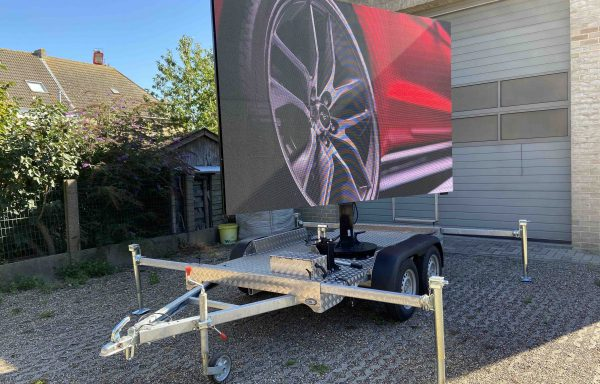 LED trailer 6m2 LED scherm 3.9mm pitch